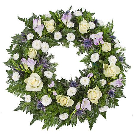 Classic Blue Wreath