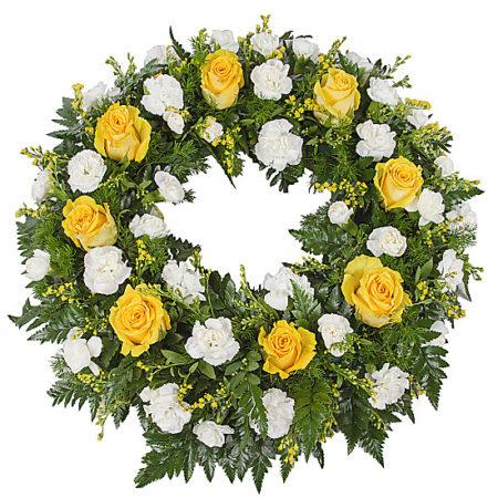Classic Yellow Wreath