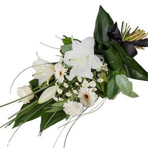 Petite White Lily Sheaf