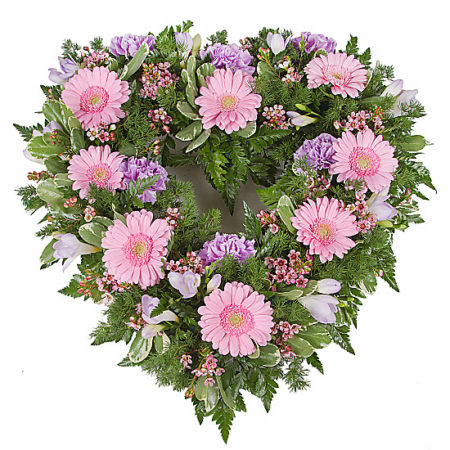 Pink Open Heart Tribute